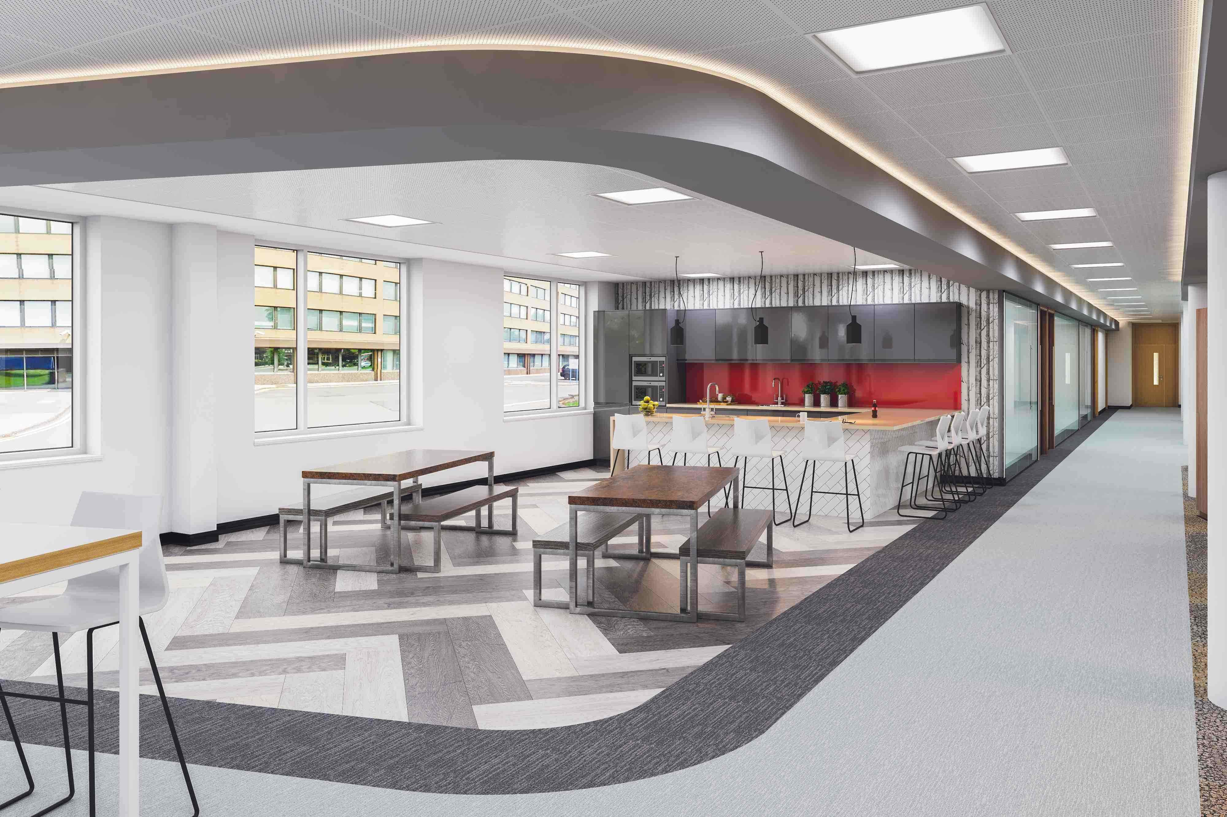 great office interiors. What Are The Benefits Of Great Lighting On Office Interiors In Newbury? Y